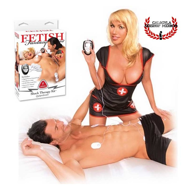 kit electro sexual para principiantes Pipedream Fetish fetish shock therapy