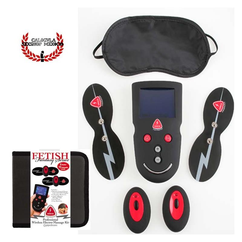 Paquete Profesional Electro Masaje Erotico Pipedream Shock Therapy Professional