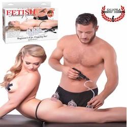 Copas de succión estimulación masaje erótico Pipedream Series Beginner Cupping Set