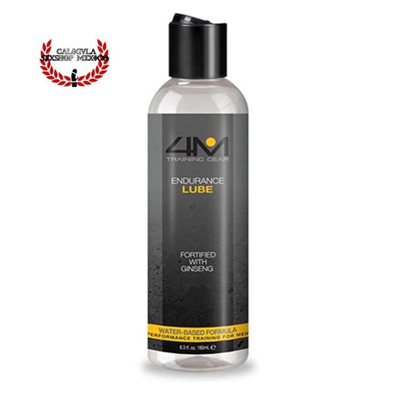 Lubricante 4 Endurance Lub 185 ML Erotico con Ginseng Base agua aumenta tu resistencia sexual