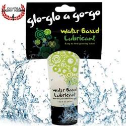 Lubricante Glo glo a go go base agua para masajes eróticos y lubricante sexual