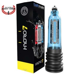 Bomba Hidraulica para tu pene tenga mayor tamaño y se más grueso Bomba Bathmate hydro 7 aqua blue