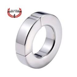 Anillo Metálico 14mm anillo cierre magnético Cockring para Testículos y pene BDSM Fetish