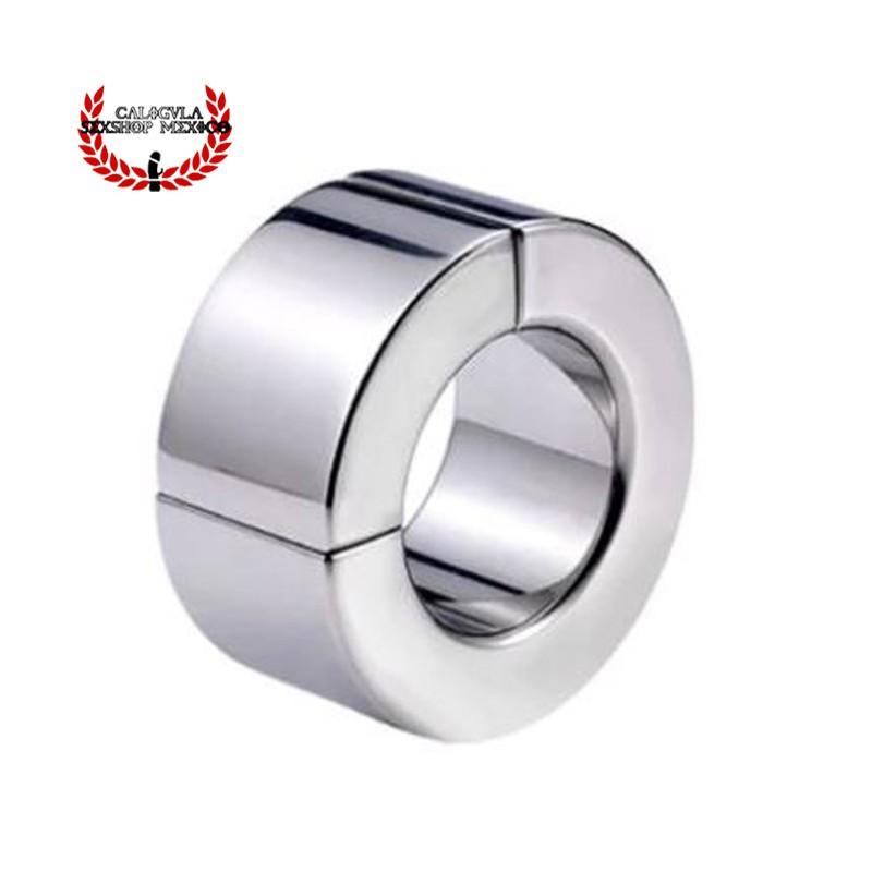 Anillo Metálico 30mm anillo cierre magnético Cockring para Testículos y pene BDSM Fetish