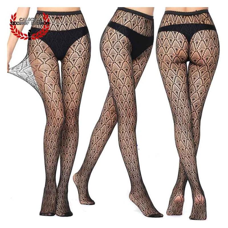 Sexy Pantimedia Completa MOD V6041 Lenceria erotica para dama Modelo Media Algodón