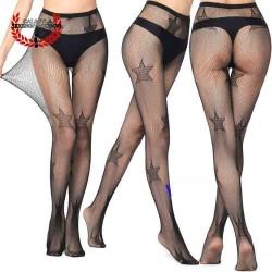 Sexy Pantimedia Completa MOD V6053 Lencería erótica para dama Media Nylon Spandex