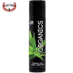 Wet Organics es un lubricante Sexual orgánico único a base de aloe que es natural