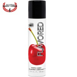 Lubricante WET 30ml Cereza Gel WET Flavored Popp'n Cherry Lubricante Sexo Oral Vagina o Anal