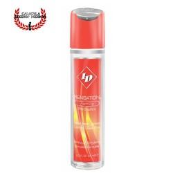 ID Sensation Lubricante Efecto Calor Base Agua Lubricante Sexual y para Masaje Erotico