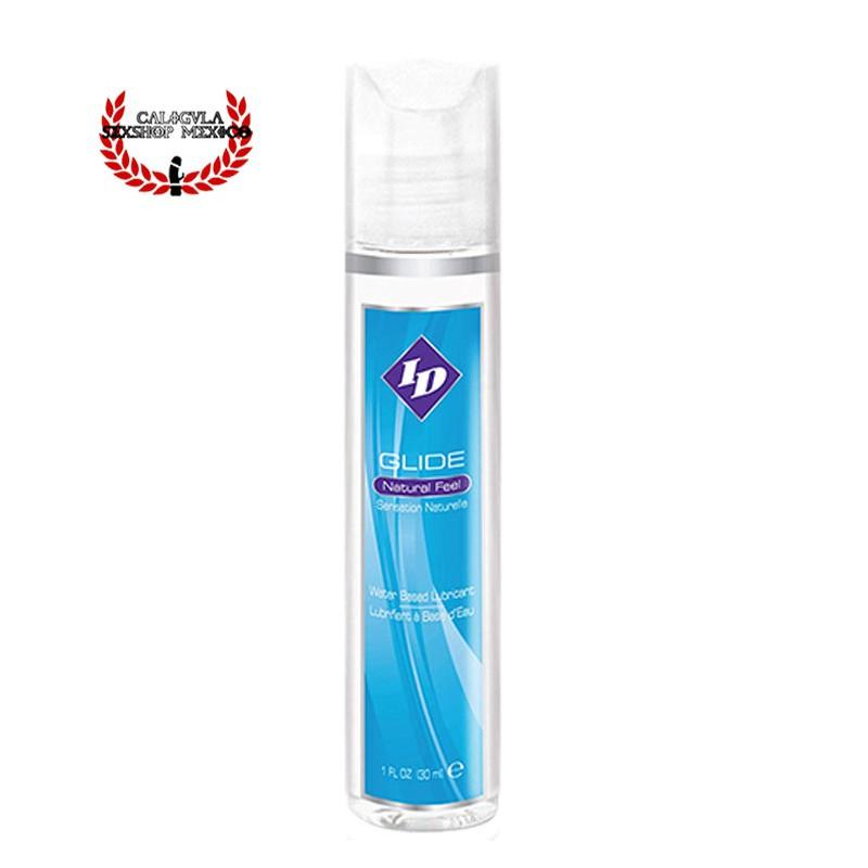 Lubricante ID GLIDE 30ML Base Agua lubricación Vaginal o Anal y Masajes Eróticos
