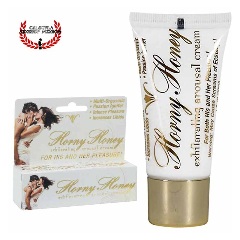 Crema Hott Products Horny Honey Estimulador sexual aumenta el placer multi orgásmico unisex