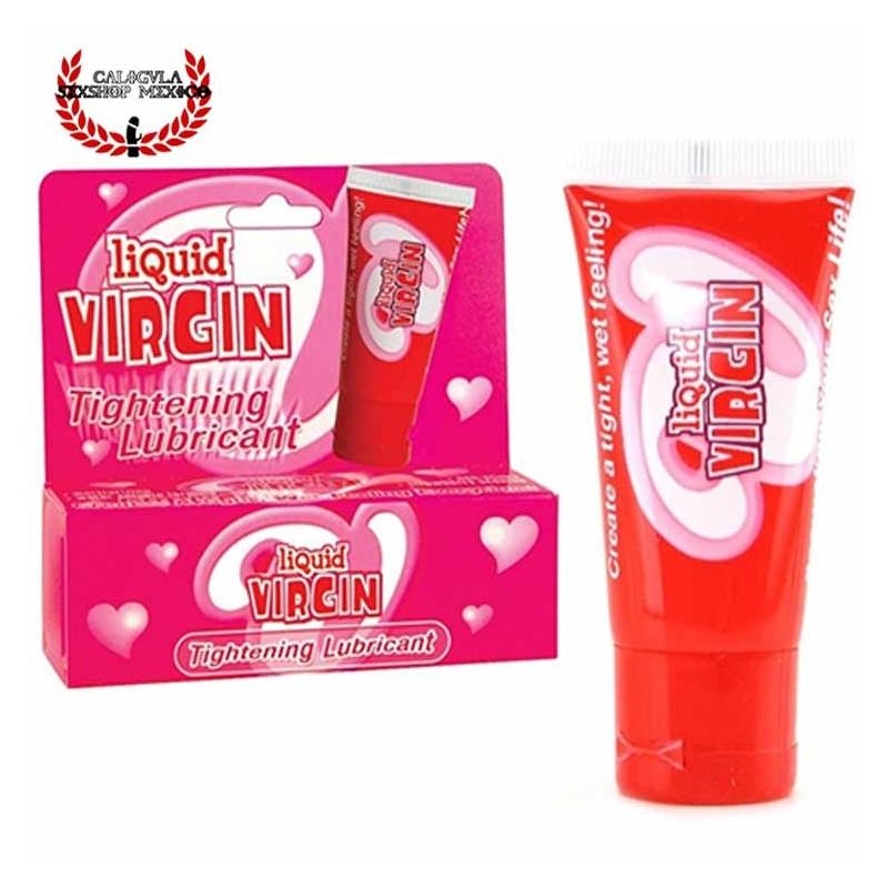 Lubricante y estrechador para vagina o ano Liquid Virgin tu vagina apretada como una virgen