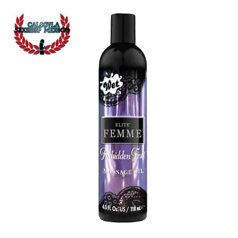Aceite Corporal Elite Femme Wet Forbidden Fruit Inttimo masaje intimo sexual Aromaterapia 118ml