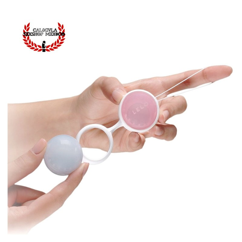 LELO Luna Beads Classic Bolas chinas Vaginales con movimiento Bolas para ejercicio vaginal de silicon