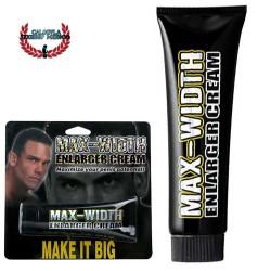 Crema Pene Súper Grueso Max Width Enlarger Cream Para un pene Mas grande Duro y más grueso
