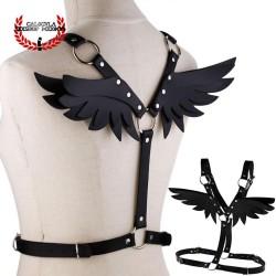 Arnés Bondage para cuerpo con alas de ángel en varios colores arnés para juegos sexuales eróticos BDSM Sado