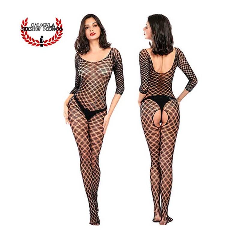 Lenceria Catsuit Body Negro MOD4209 Sexy Lenceria Erotica para dama en Red Sexy Body Red