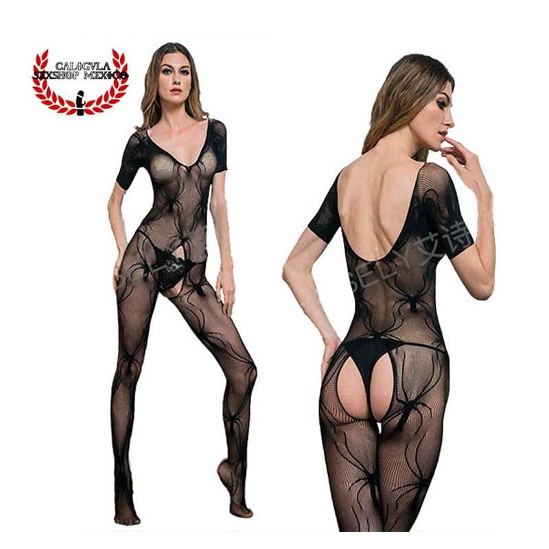 Lenceria Catsuit Body Negro MOD4184 Sexy Lenceria Erotica para dama en Red Sexy Body Red