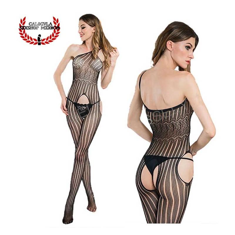 Lenceria Catsuit Body Negro MOD4181 Sexy Lenceria Erotica para dama en Red Sexy Body Red
