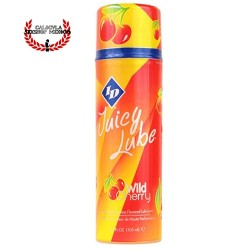 Lubricante 105 ML ID Juicy Lube sabor Cereza Perfecto para sexo oral