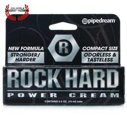 Crema para mantener tu erección Rock Hard Power Cream Pipedream Crema para pene
