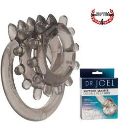 Triple Anillo para pene y testículos Anillo para pene Dr. Joel Kaplan Support Master Double Pleasure