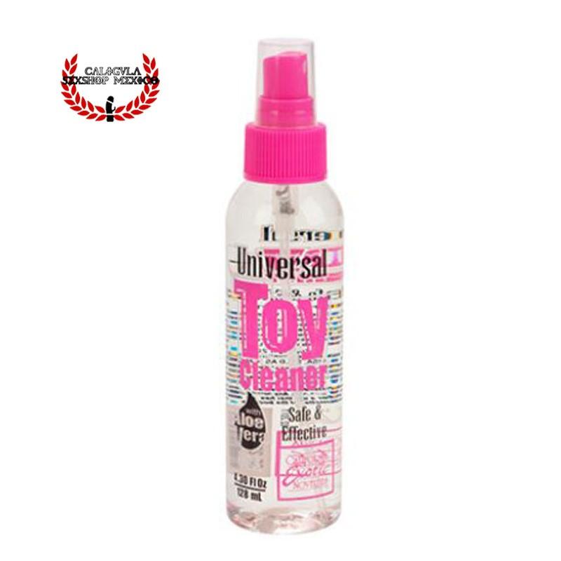 Limpiador para Juguetes Sexuales anales o vaginales con Aloe Vera Calexotics Toy Cleaner con Aloe Vera