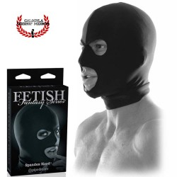 Capucha Mascara completa Spandex color Negra BDSM Pipedream Limited edition fetish fantasy spandex Hood