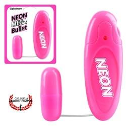 Bala Rosa Neon Luv Touch Bullet Pipedream Vibrador Sexual Clítoris Punto G control remoto Bala Vibrador sexual