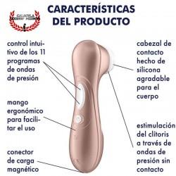 Satisfyer Pro 2 estimulador clitoris por ondas de presión de Aire Satisfyer