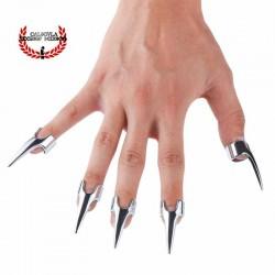 Uñas Dedo Metalicas BDSM Garras de Acero Para Juegos Bondage Tortura Sado BDSM