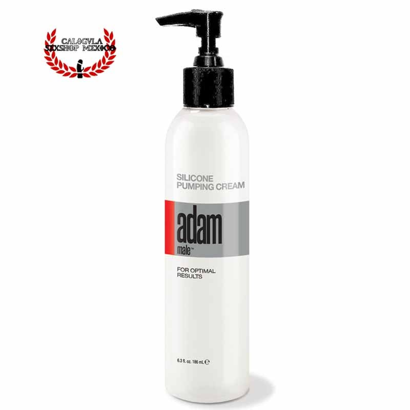 Crema de Silicon sellador Bombas de Succion para Pene Adam Male Silicone Pumping Cream