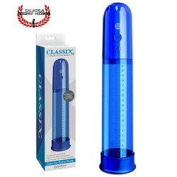 Bomba de succión para Pene Classix Auto Vac Power Pump Blue de Pipedream