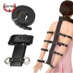 Arnes para sujetar los brazos a la espalda BDSM Arnes Juegos de rol BDSM Bondage Esclavo amo