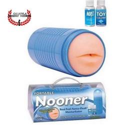 Masturbador para Pene en forma de boca Pipedream Portable Nooner Mouth